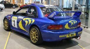 Colin Mcrae S 1997 Subaru Impreza Wrc Is Up For Sale Carscoops Subaru Impreza Subaru Impreza Wrc Jdm Subaru