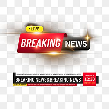 Breaking News News Channel Border Elements Light Effect Element Frame Png Transparent Clipart Image And Psd File For Free Download Light Effect News Channels Breaking News