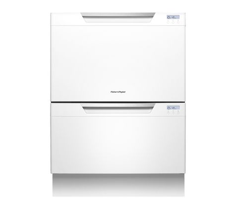 Double Dishdrawer Dd60dchw7 Full Size Integrated Dishwasher Integrated Dishwasher Drawer Dishwashers Dishwasher