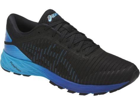 8cd0347115d7 ... shopping asics mens dynaflyte 2 black island blue limoges ankle high running  shoe 9m 2292a c0422