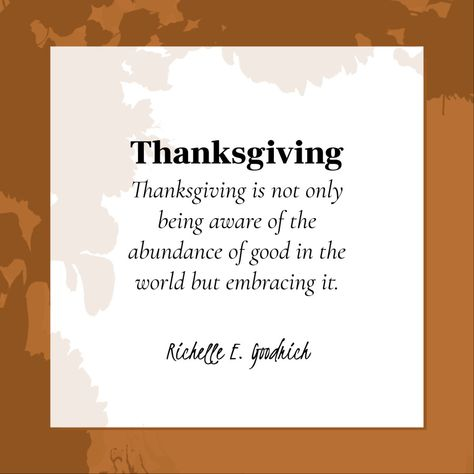 Thanksgiving quote | Templates | Stencil