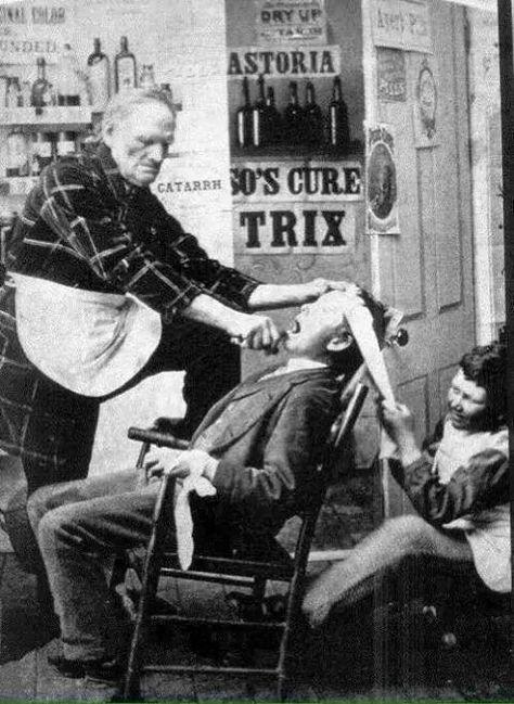 Die gute alte Zeit #3 - Zahnarzt