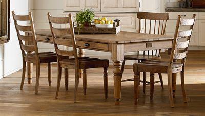 Magnolia Home 7 Taper Turned Dining Table Jordan S Furniture Furniture Dining Table Dining Room Design