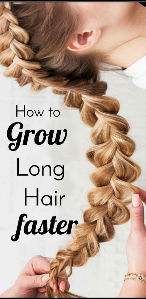 Grow Long Thick Hair Faster Even After A Bad Haircut Long Hair Styles Long Hair Tips Grow Long Thick Hair Fast