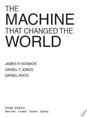 The Machine That Changed The World Pdf Download In 2020 With