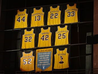 Los Angeles Lakers Wikipedia Los Angeles Lakers Lakers Vs Nuggets Lakers