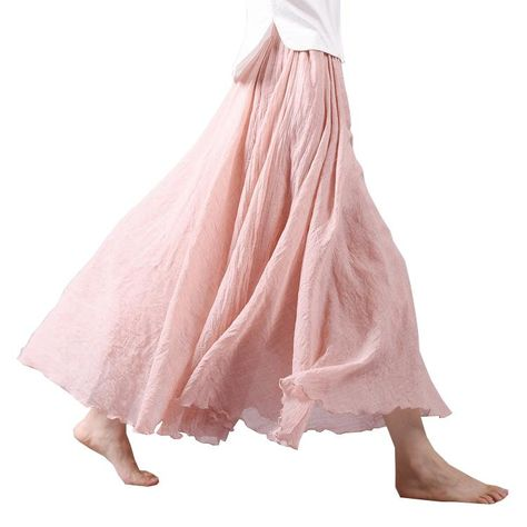 ecb2f1312d41 Brand Name: sherhure Material: Cotton,Linen Style: Bohemian Pattern Type:  Solid Silhouette: A-Line Decoration: None Dresses Length: Ankle-Length  Waistline: ...