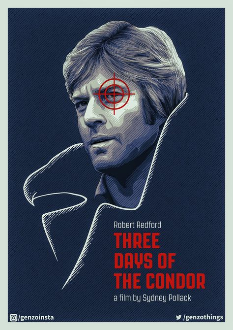 Three Days of the Condor - PosterSpy