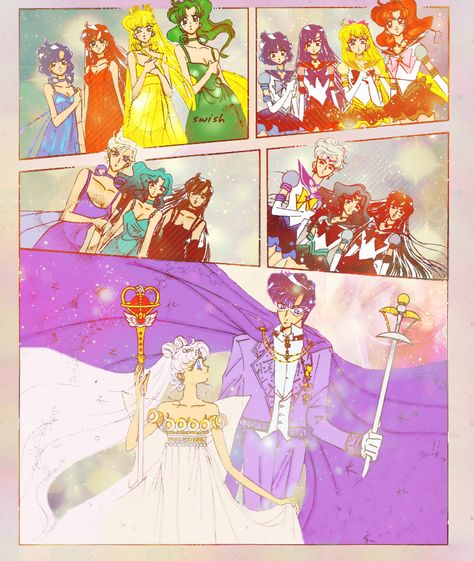 Neo Queen Serenity Crystal: Naoko Takeuchi Art: Sailor Moon ☾ On Pinterest
