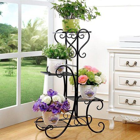 Home In 2020 Metal Plant Stand Wooden Plant Stands Indoor Iron