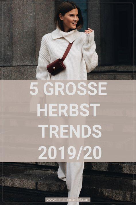 5 große Herbsttrends 2019/2020