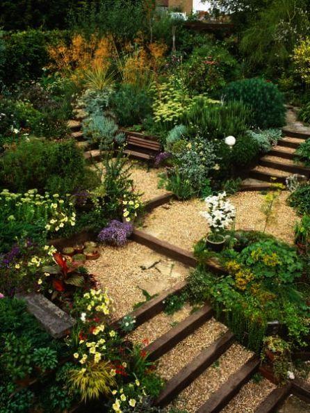 Landscape Gardening Course Surrey Regarding Floral Avenue Landscape Gardening Llc Garden Design Pictures Sloped Backyard Sloped Garden