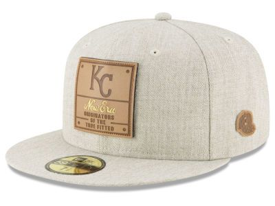 Kansas City Royals New Era Mlb Vintage Oatmeal 59fifty Cap New