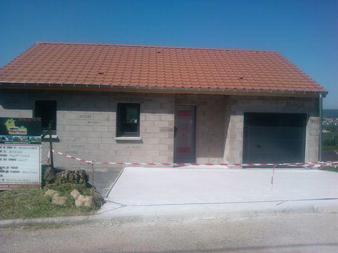 Le vide sanitaire vient d\u0027être coulé Maison Bouxières-aux-dames 3