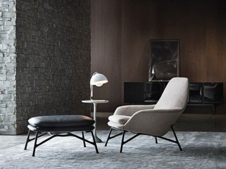 The Design Of Minotti Prince, Fine Lines And Harmonious Shapes | Interiors,  Armchairs And Living Rooms