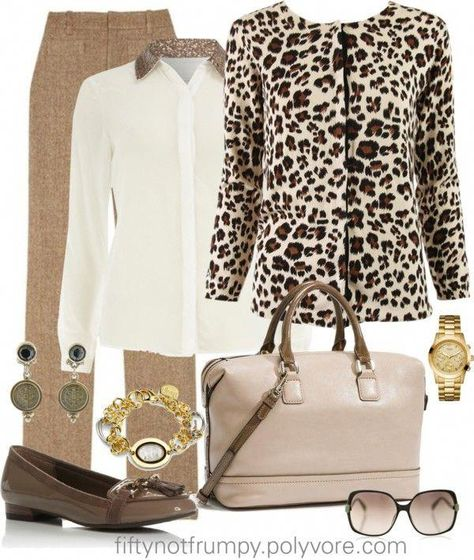 """""""Polished Neutrals"""" by fiftynotfrumpy ❤ liked on Polyvore #womensfashionclassycasual"""