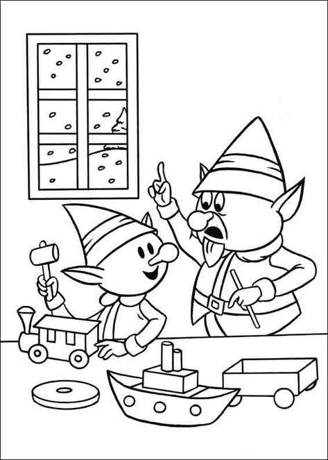 Rudolph El Reno De La Nariz Roja 12 Dibujos Faciles Para Dibujar
