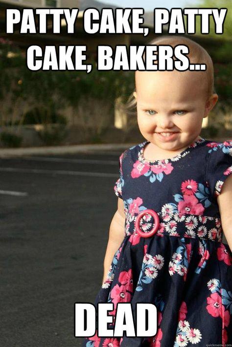 patty cake bakers dead CREEPY