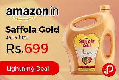 Saffola Gold Oil Jar 5 Liter Just At Rs 699 Only Amazon Jar