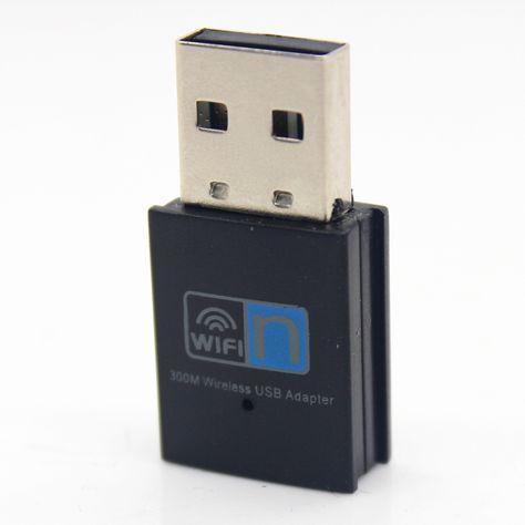 Hi-Speed 300Mbps Mini Wireless USB Wifi Adapter 2.4GHz 802.11n//g//b LAN  Network