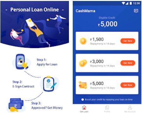 Cashmama Instant Personal Loan App Personal Loans Personal Loans Online Lending App