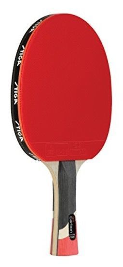 Table Tennis Racket Paddle Pro Carbon Ping Pong Tournament Play Sport Rubber Red Table Tennis Racket Table Tennis Ping Pong Table Tennis