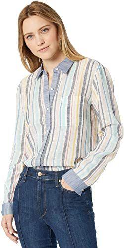 Splendid Womens Long Sleeve Button-Up Shirt