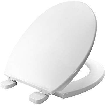 Bemis Chester Stay Tight Toilet Seat White White Toilet Seats