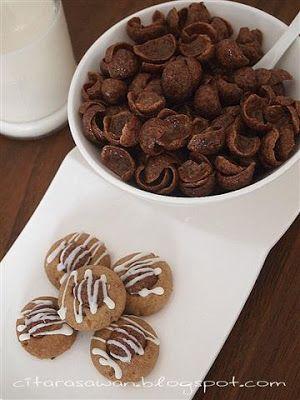Biskut Coco Crunch Cookies Resepi Terbaik Resep Biskuit Resep Makanan Makanan