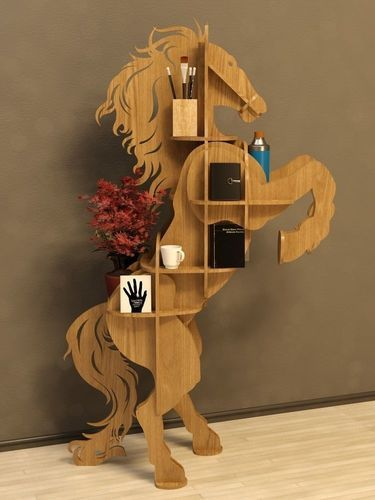 cofee table horse 3d model max obj dxf mtl 4 | dogs | Wall