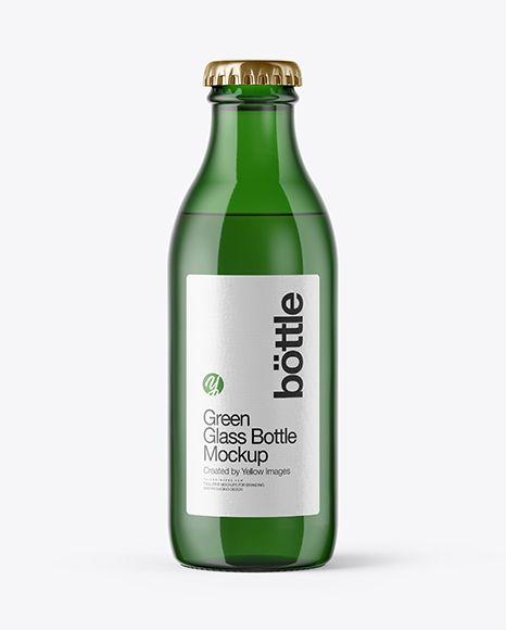 Download 180ml Green Glass Bottle Mockup In Bottle Mockups On Yellow Images Object Mockups Mockup Free Psd Bottle Mockup Green Glass Bottles Yellowimages Mockups