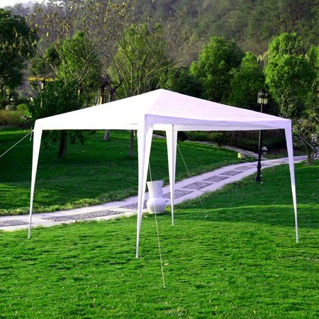Ewarehousedirect Outdoor 10 X10 Canopy Party Wedding Tent Heavy Duty Gazebo Pavilion Cater Events Backyardweddings Backyard Wedding Gazebo Backyard