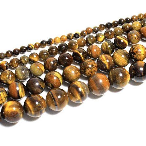 66bbb9fdb3ae Aliexpress.com  Comprar Superior al por mayor Grado Terrón de Ojo de Tigre  Amarillo Natural Semi Piedra Preciosa Para La Joyería Que Hace DIY…