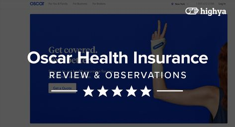 Oscar Is A New York Based Health Insurance Provider Who Touts