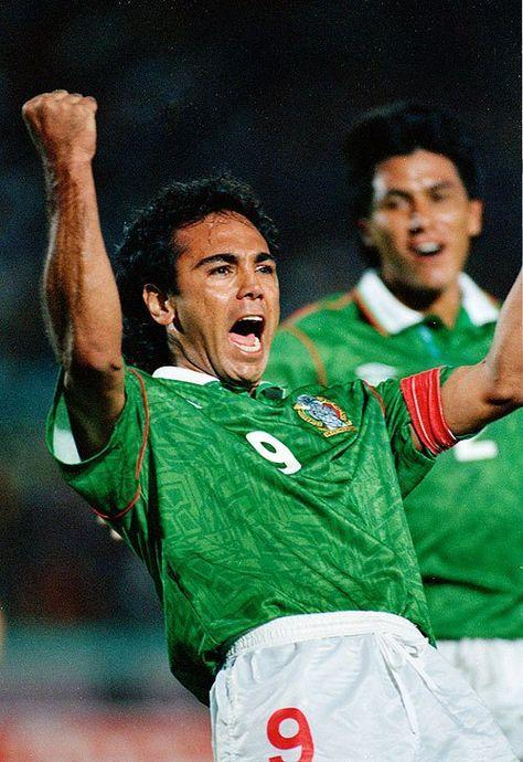 Hugo Sánchez Mexico Equipo De Futbol Leyendas De Futbol Champions