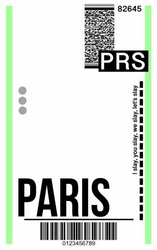 Fly Ticket Phone Case DIY - Template Paris - Here's a template to recreate the hyped fly ticket phone case in seconds! Diy Case, Diy Phone Case, Cellphone Case, Iphone Cases, Tumblr Phone Case, Posters Vintage, Ticket Design, Aesthetic Phone Case, Ticket Template