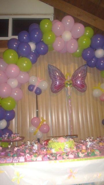 Flower Balloon Arch Decoration Flower Balloon Party Idea