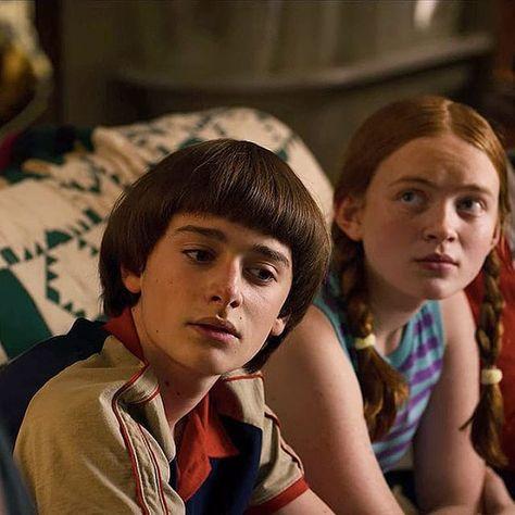 Stranger Things Will and Max, Season 3, Noah Schnapp, Sadie Sink