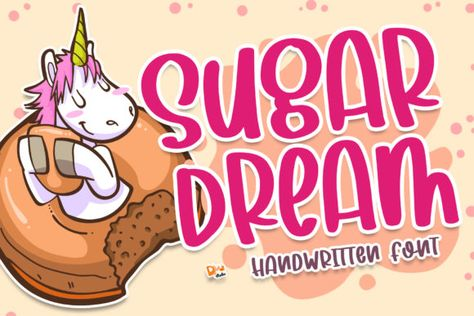 Sugar Dream (Font) by dmletter31 · Creative Fabrica