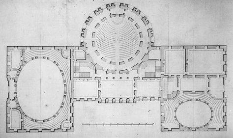 Legislative Chamber Design by Stephen Hallet