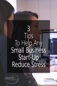 Three Tips to Help Any Small Business Start-up