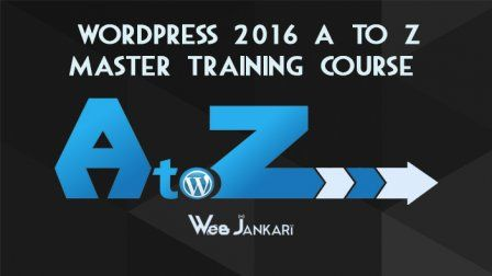 Wordpress 2016 A To Z Master Training In Hindi Urdu Web Development Logo Poster Design Inspiration Css Tutorial
