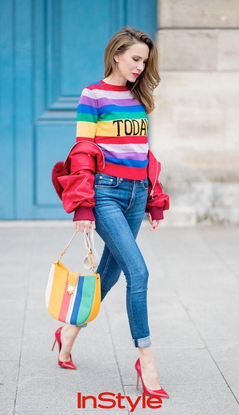 Aufgemotzt: diese 4 Oberteile verleihen deiner Jeans einen