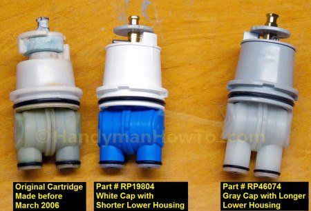 Delta Shower Valve Cartridge Replacement Parts Rp19804 And Rp46074