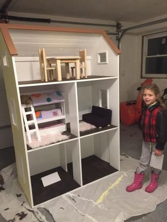"ana white | 2 story american girl dollhouse - diy projects | 18"" or"