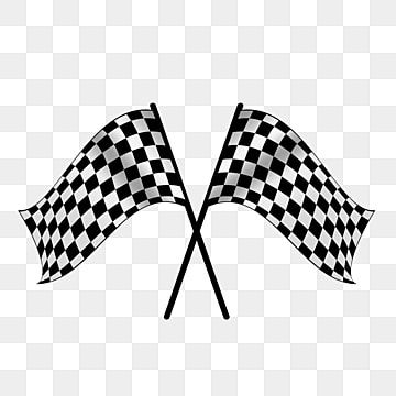A Pair Of Black And White Checkered Flag Racing Elements A Pair Banner Racing Png Transparent Clipart Image And Psd File For Free Download Black And White Background Black And White