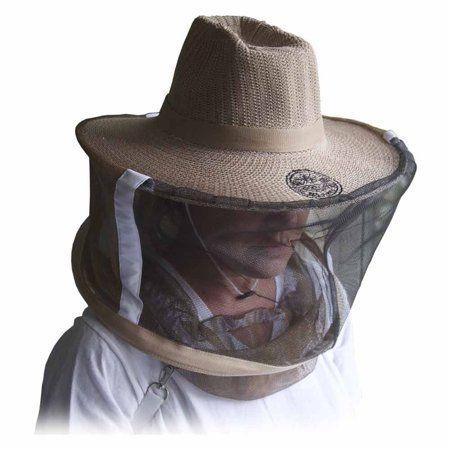 Goodland Bee Supply Glveil Lg Natural Cotton Beekeepers Medium Large Hat Veil Bee Protection During Beehive Walmart Com Bee Keeper Hat Bee Keeping Bee Supplies