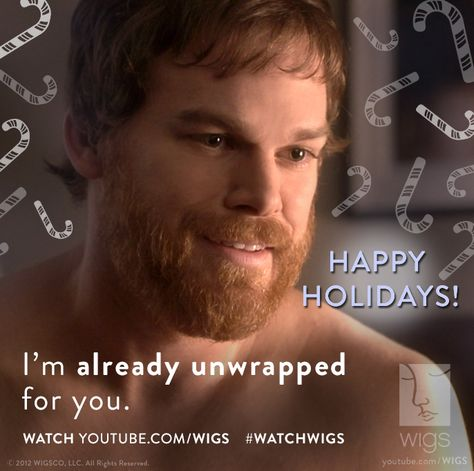 Oh Michael, you're so considerate. #michaelchall #holidays #watchwigs youtube.com/wigs