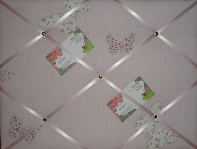 Large Laura Ashley Summer Meadow Butterfly Hand Crafted Fabric