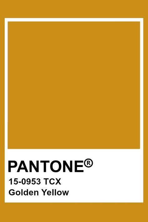 Pantone Golden Yellow